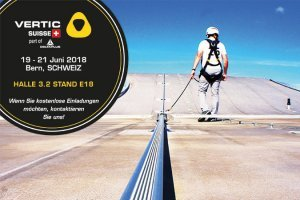 VERTIC Schweiz ladet Sie ein, zur ArbeitsSicherheit Fachmesse in Bern!